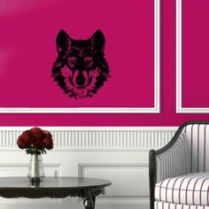 Wall Vinyl Decal Sticker Art Design Wolfs Angry Face Room Nice Picture Decor Hall Wall Chu713 Thumbs up decals http://www.amazon.com/dp/B00JA7NNUI/ref=cm_sw_r_pi_dp_7VnItb1NKAKRJAKX