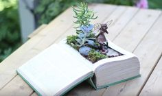 This fascinating video from Garden Answer will teach you how to transform an old, vintage book into a small fairy garden. This is a perfect craft project to do with children, or you can make it alone and bring out your inner child. In the beginning of the video, Laura explains the materials you will …