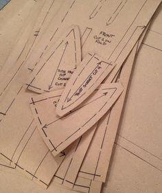 Benutzerdefinierte Viktorianisches Korsett Schnittmuster--Papiermuster ausgearbeitet auf Ihre Messungen/Größe mit Bedienungsanleitung für Bürgerkrieg, Hektik-Ära von redthreaded auf Etsy https://www.etsy.com/de/listing/202440402/custom-victorian-corset-sewing-pattern