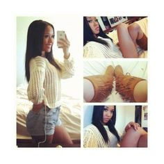 black girl with long hair | Tumblr ❤ liked on Polyvore