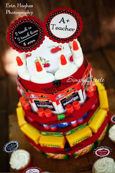 what's scrapping: Back To School Supply Cake