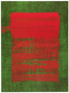 Fabienne Verdier - Contemporary Artist - L'art de la calligraphie monumentale  - Sedes Sapientiae V - 2011