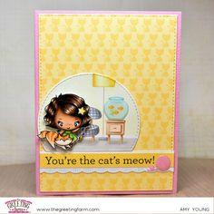 The Greeting Farm- Pretty Kitty set