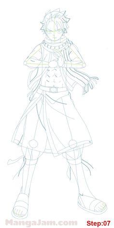 how_draw_natsu-dragneel_fairy_tail_06