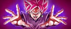 Black Zamasu/Goku SSBSS: Super Saiyan Rose by NekoAR