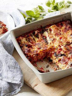 Ricotta, Lemon and Mozzarella Cannelloni Bake Recipe | myfoodbook