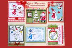 Stamp of the Month October 2011 - Great Impressions Rubber Stamps Diy Cards Stamps, Creative Cards, Advent Calendar, October, Holiday Decor, Frame, Picture Frame, Frames, Hoop