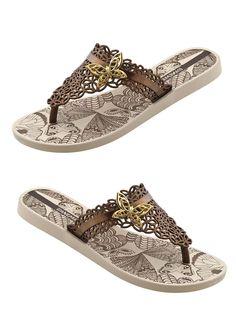 Lacy Ipanema Flip Flops