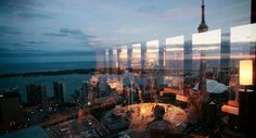 The Exclusive View of Toronto from Canoe Restaurant
