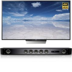 Sony X850D 85-Inch 4K HDR w/ Android TV & Bar Speaker System w/ Wi-Fi/Bluetooth