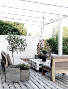 [This is how to style a cozy terrace #terrace]