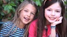 Mackenzie with a friend