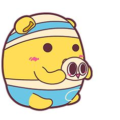 32 Lovely egg people emoji gifs