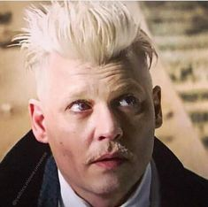 Johnny Depp as Gellert Grindelwald                                                                                                                                                                                 More
