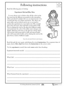 Worksheets Reading Worksheets Grade 4 our 5 favorite prek math worksheets pinterest nature homework following instructions activities greatschools grade 5