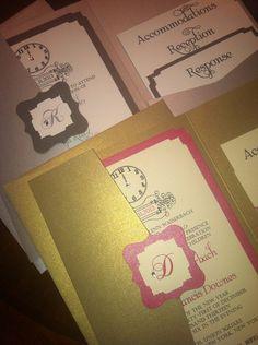New Years Eve Wedding Invitation Sample Swarvoski by BellaMEvents, $6.00