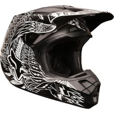 Fox - 2013 Valkari Helmet - Motocross gear, parts and accessories distributor - Online Motocross Store - We offer some of the most competitive prices in the industry. We are a store that is dedicated to the motocross customer, You want it, we can get it! Atv Gear, Motocross Helmets, Dirt Bike Helmets, Dirt Bike Gear, Motorcycle Style, Motorcycle Outfit, Riding Gear, Riding Helmets, Fox Racing