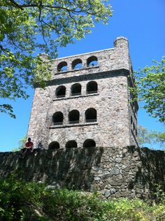 Take a hike to this beautiful castle in Sleeping Giant State Park in Hamden, CT.