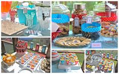 The Vintage Milk and Cookies Party - Tons of Kid-Friendly Grab-N-Go Snacks!!