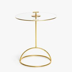 GLASS TABLE WITH SPHERICAL BASE -  | Zara Home United Kingdom