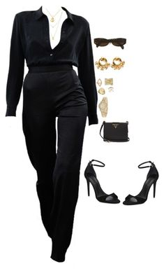 """""""Untitled #4572"""" by mollface ❤ liked on Polyvore featuring Botkier, Satya Jewelry, Chanel, Moschino, Anne Sisteron, LE VIAN, Sarah Chloe, Rolex, Prada and Alexander Wang"""