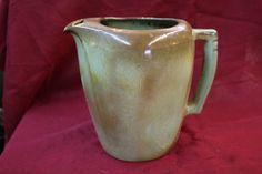 Frankoma Pottery Green Tea Water Pitcher