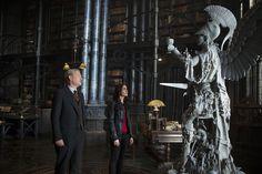 Three new 'MORTAL INSTRUMENTS: CITY OF BONES' stills from inside the Institute library