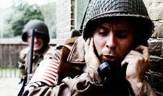 Rick Gomez as TchSgt. George Luz in Band of Brothers