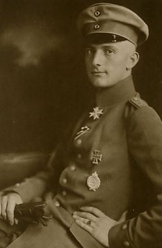 Lothar-Siegfried Freiherr von Richthofen (27 September 1894 – 4 July 1922) was a German First World War fighter ace credited with 40 victories. He was a younger brother of top-scoring ace Manfred von Richthofen (the Red Baron) and a distant cousin of Luftwaffe Field Marshal Wolfram von Richthofen.