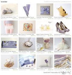 Lavender, a lovely treasury by LoraViBeadJewelry, includes our mini-purse!    Many thanks!