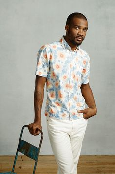 floral for men.. yay or nay?   Steven Alan Men's Spring Summer 2013