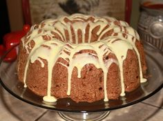 Granny Smith Apple Bundt Cake Recipe  I might have to substitute some applesauce for some of the 2 cups of oil in this recipe. Way to much fat otherwise.