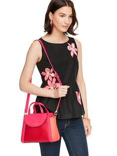 Pink and red bag