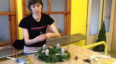 Ako si vyrobiť (nielen) adventný veniec - YouTube
