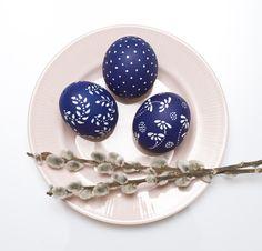 kékfestő, hagyomány, ünnep, húsvét, terítés, tojás, festés, tojásfa, nyúl Measuring Cups, Easter, Spring, Creative, Measuring Cup, Easter Activities, Measuring Spoons