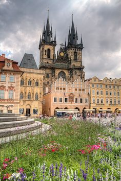 The Church of Our Lady before Týn - Prague, Czech Republic