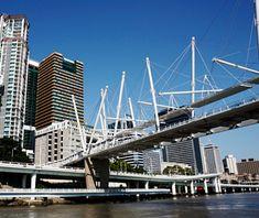 World's Most Spectacular Pedestrian #Bridges - Kurilpa Bridge, Brisbane, Australia