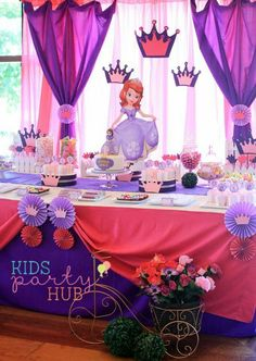 Royal and Elegant Sofia the First Themed Birthday Party for Little Princess Sophia Grace at Ayala Alabang Clubhouse. & Princess sophia Birthday Party Ideas | Pinterest | Princess sofia ...