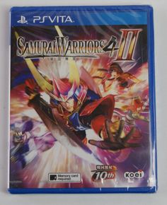 Samurai Warriors 4-II PlayStation Vita Brand New Sealed Asian/Japanese/English: $159.99 End Date: Thursday Apr-5-2018 14:40:30 PDT Buy It…