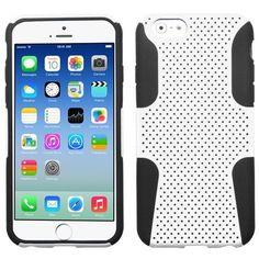 MYBAT Astronoot Hybrid Case for iPhone 6 - White/Black