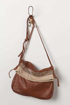 Estellon leather/ glitter bag