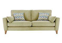Copenhagen 4 Seater Fabric Sofa