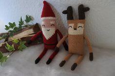 Lang Julemand Driving Home For Christmas, All Things Christmas, Christmas Home, Christmas Crafts, Xmas, Christmas Ornaments, Diy Crochet, Crochet Toys, Christmas Knitting