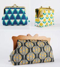 Octopurse on Etsy with Kokka fabric designed by Ellen Baker.