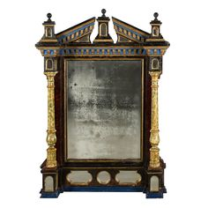 6k 4 ft. 4 in.Hx3 ft. 1 in.W French Renaissance Style Mirror | From a unique collection of antique and modern pier mirrors and console mirrors at https://www.1stdibs.com/furniture/mirrors/pier-mirrors-console-mirrors/
