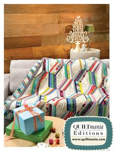 SIMPLY MODERNE Quilts & Crafts Magazine N°3 by QUILTMANIA Editions