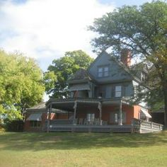 Teddy Roosevelt's home in Long Island, New York