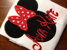 Personalized minnie mouse shirt - minnie mouse disney shirt