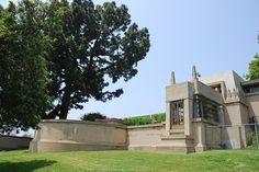 Frank Lloyd Wright's Hollyhock House,