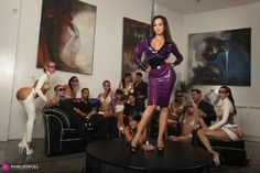Katsuni, Shazia Sahari, Daisy Marie, Charmane Star, Sophia Santi - Latex Party - Orgy by Katsuni (D0rcelClub) [FullHD 1080p]